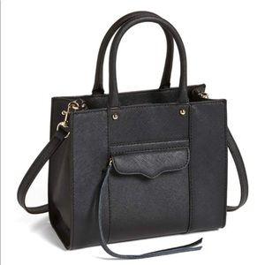 Rebecca Minkoff Mini MAB Crossbody Bag in Black